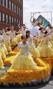 Daffodil Parade Float 2011 Sumner WA