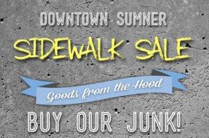 Sidewalk Sale Sumner WA Event